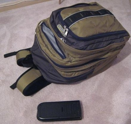 my new backpack